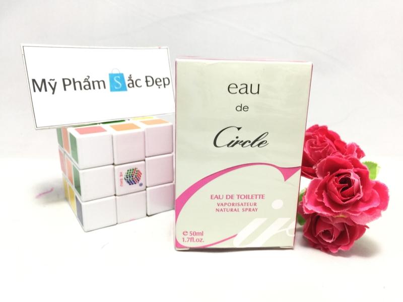 Bán nước hoa nữ Eau de Circle 50ml màu hồng giá tốt nhất tại tphcm - 01