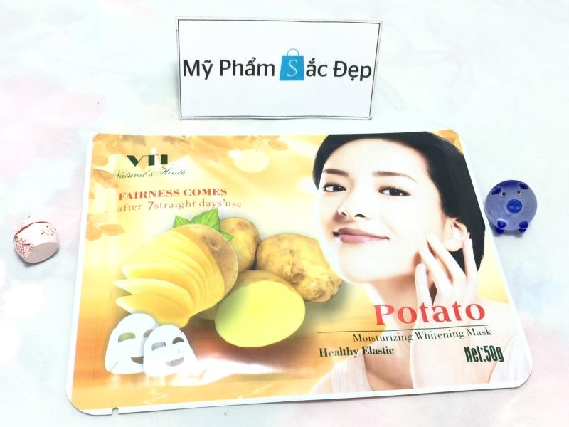 Miếng đắp mặt nạ khoai tậy potato VTL trắng da giá sỉ tại tphcm - 01