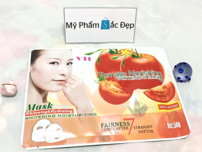 Miếng đắp mặt nạ cà chua Tomato Norishing trắng da giá sỉ tại tphcm - 02