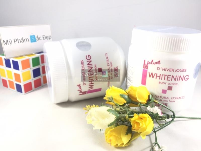 kem body trắng da velvet whitening body lotion Thái Lan tại tphcm - 01