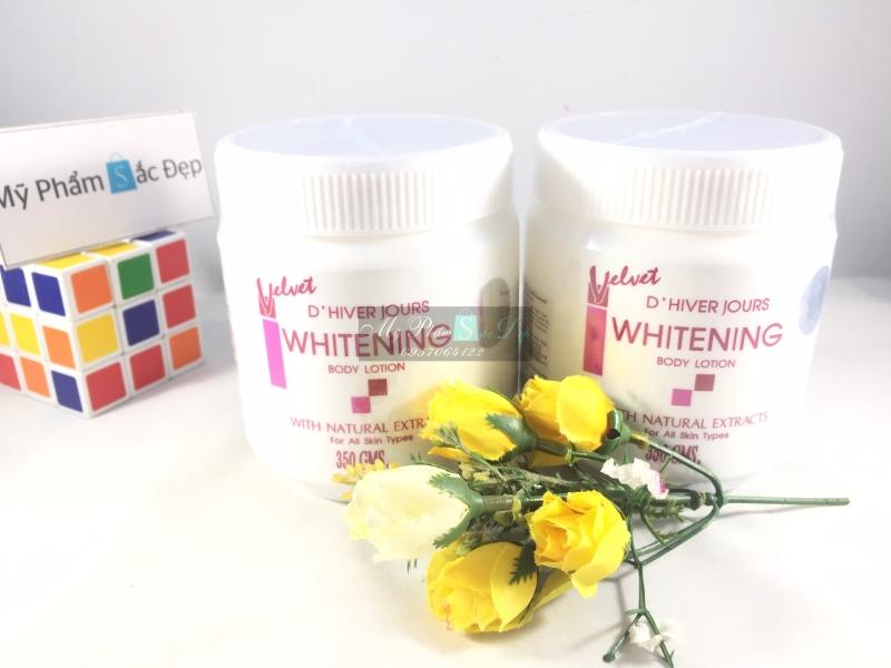 kem body trắng da velvet whitening body lotion Thái Lan tại tphcm - 02