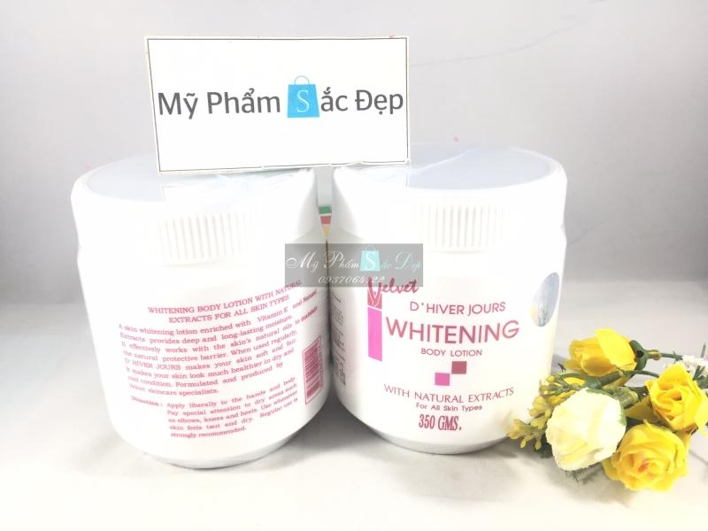 kem body trắng da velvet whitening body lotion Thái Lan tại tphcm - 03