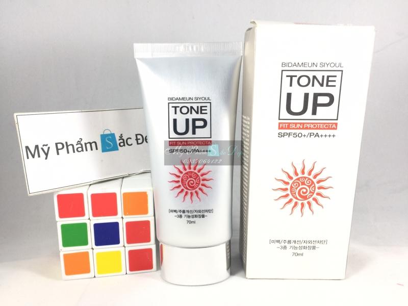 Kem chống nắng nâng tông màu da SPF 50 PA Bidameun Hàn Quốc tại tphcm - 03