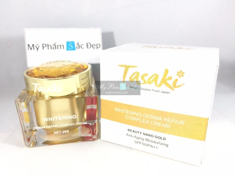 Kem Tasaki dưỡng trắng da chống lão hóa vàng nano 25g giá tốt tphcm - 01