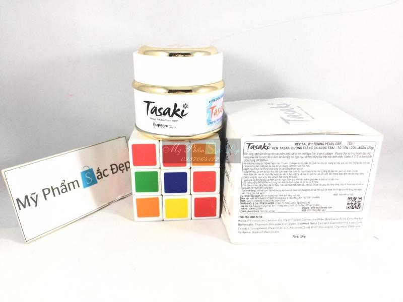 Kem Tasaki dưỡng trắng da ngọc trai tổ yến collagen giá tốt tại tphcm - 01
