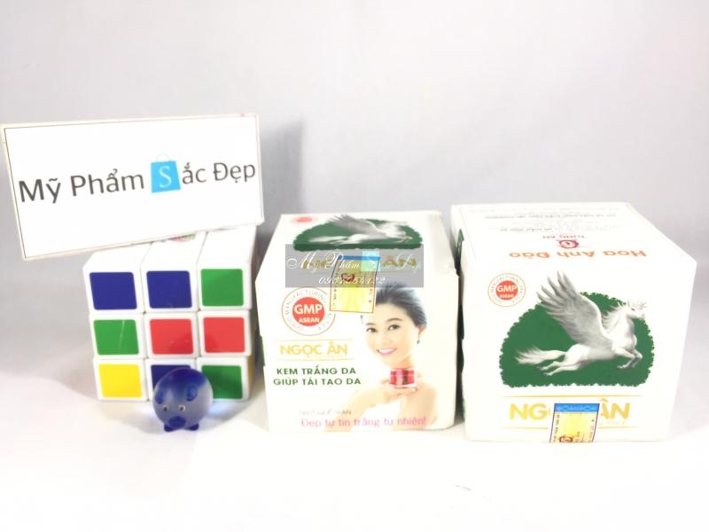 Kem ngọc ân trắng da tái tạo xanh lá chính hãng giá sỉ tốt nhất tphcm - 01