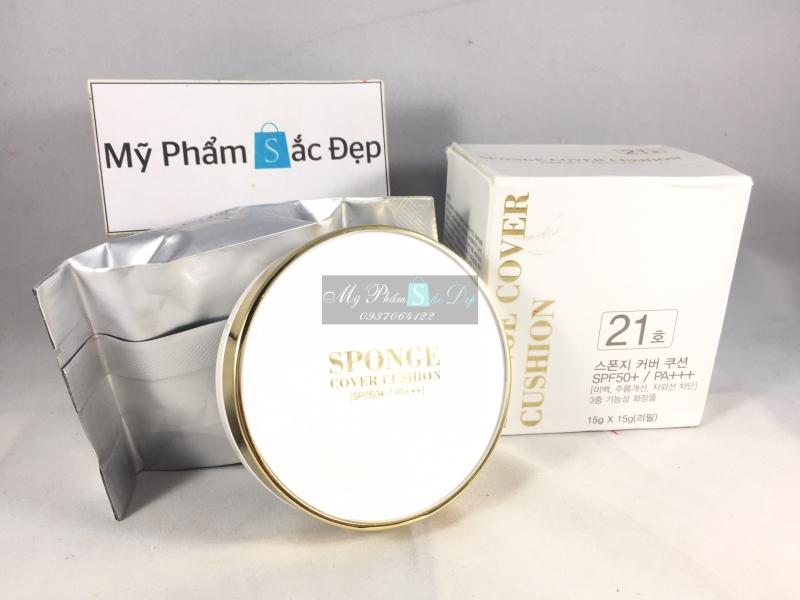 Phấn nước kiềm dầu trắng da cao cấp SPF50 PA số 21 và 23 Bidameun - 03