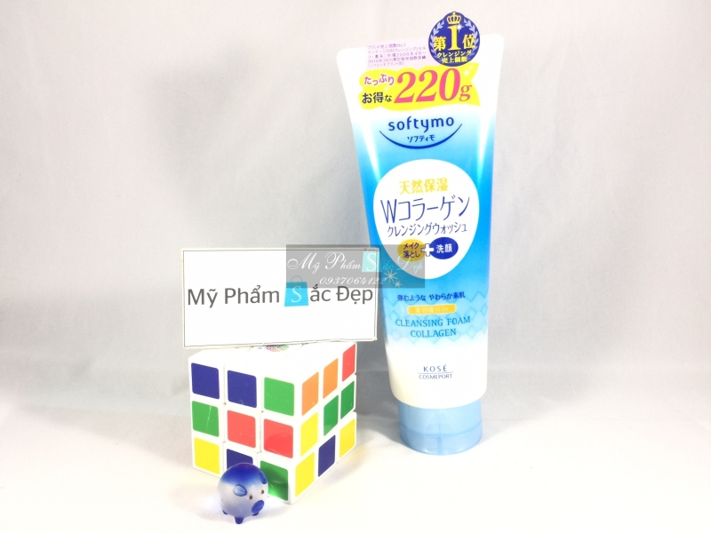 Sữa rửa mặt Kose Softymo Nhật Bản collagen 220g giá sỉ tại tphcm - 03
