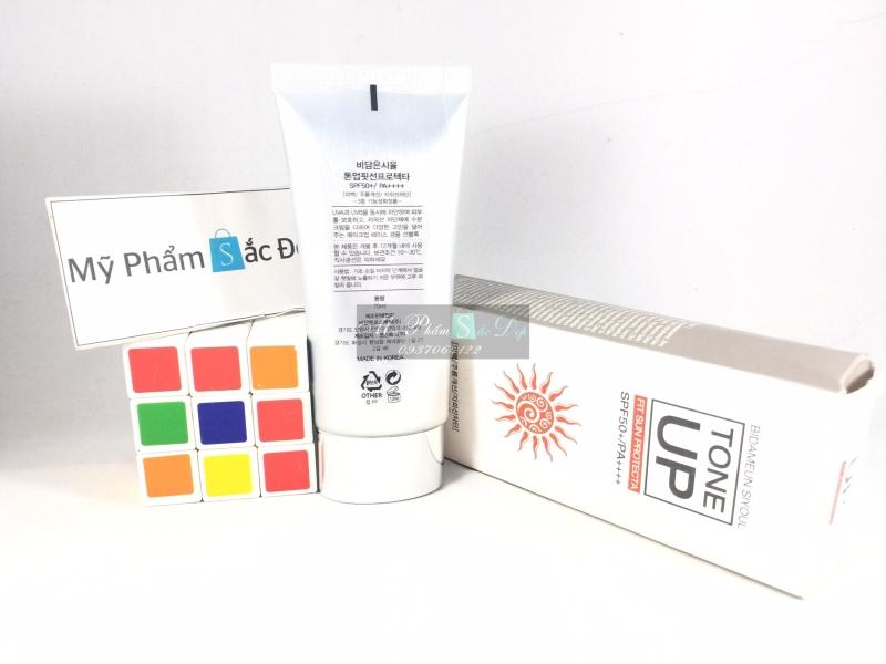 Kem chống nắng nâng tông màu da SPF 50 PA Bidameun Hàn Quốc tại tphcm - 01