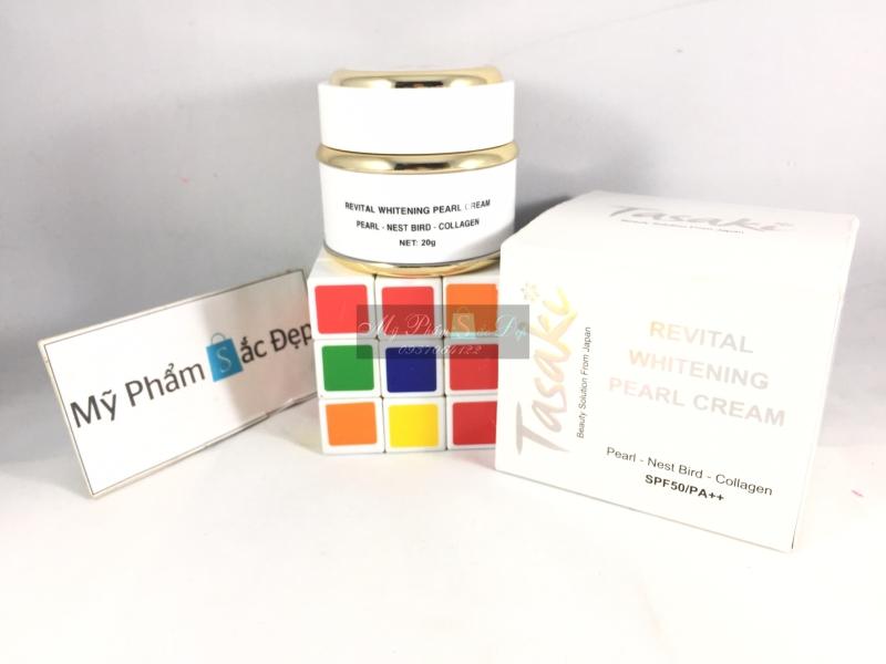 Kem Tasaki dưỡng trắng da ngọc trai tổ yến collagen giá tốt tại tphcm - 03