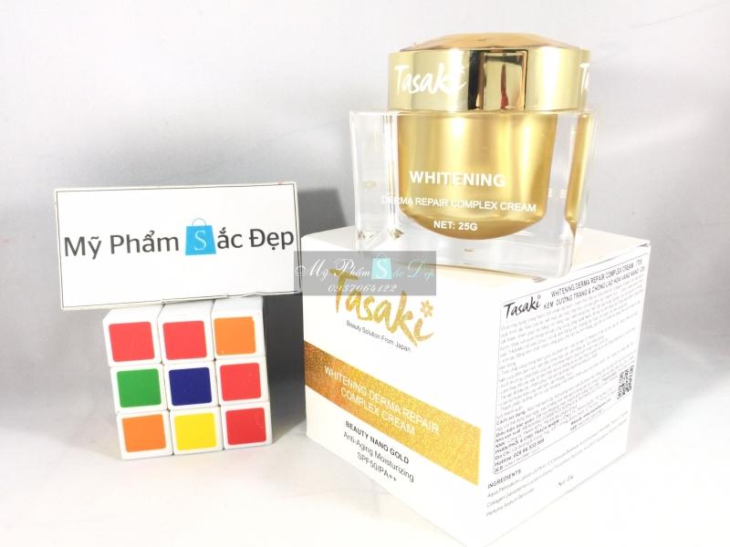 Kem Tasaki dưỡng trắng da chống lão hóa vàng nano 25g giá tốt tphcm - 03