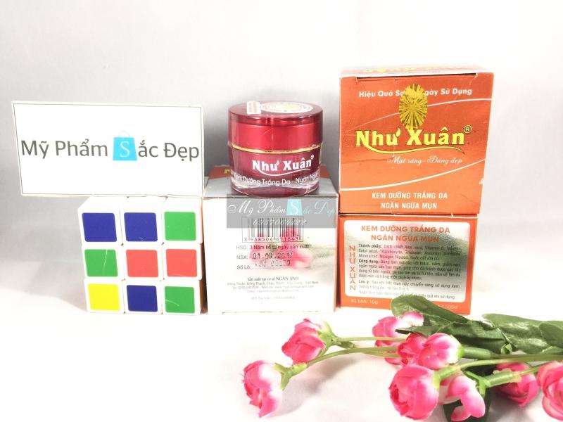 Kem Như Xuân dưỡng trắng da ngừa mụn hiệu quả sau 7 ngày giá sỉ tphcm - 02