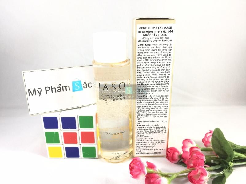 nước tẩy trang cao cấp Hàn Quốc IASO dùng cho mọi loại da chính hãng - 02