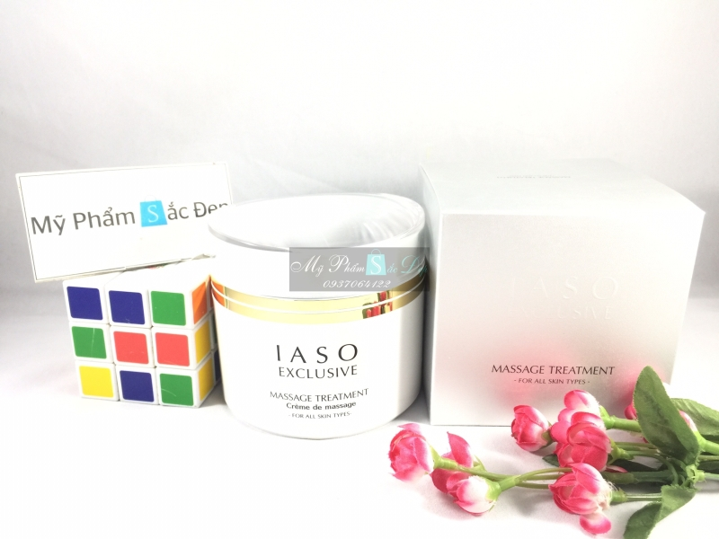 Kem massage giải độc tố IASO Exclusive Massage Treatment giá tốt tphcm - 02