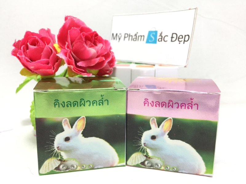 Kem trị nám con thỏ màu xanh của Thái Lan giá sỉ tốt nhất tại tphcm - 03