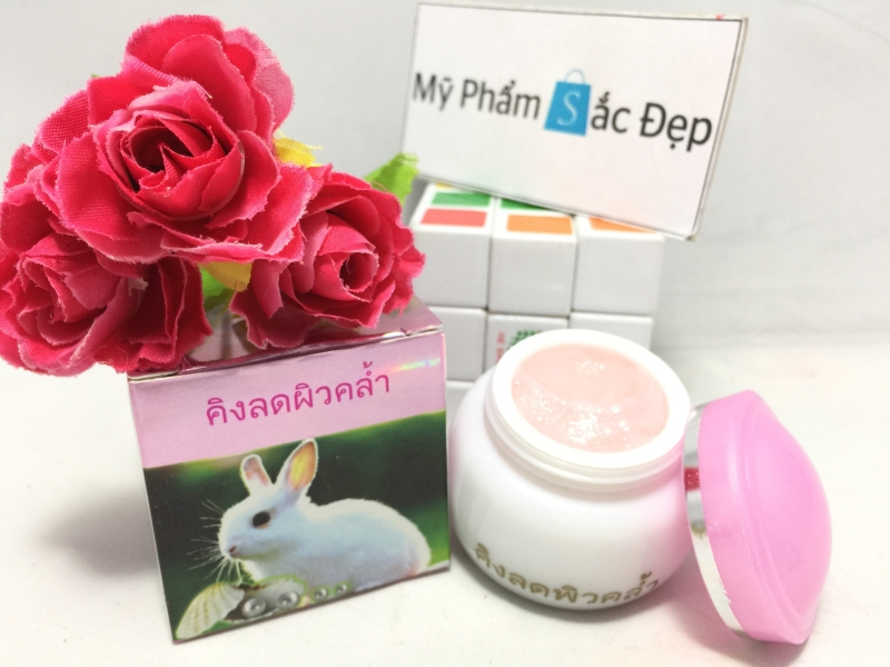Kem trị nám con thỏ màu hồng của Thái Lan giá sỉ tốt nhất tại tphcm - 03
