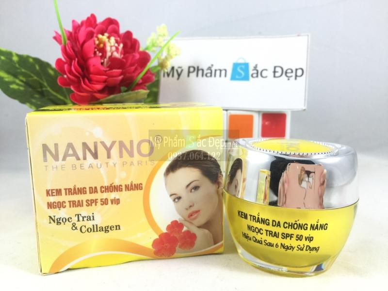 Kem NANYNO dưỡng trắng da chống nắng ngọc trai SPF 50 VIP tại tphcm - 03