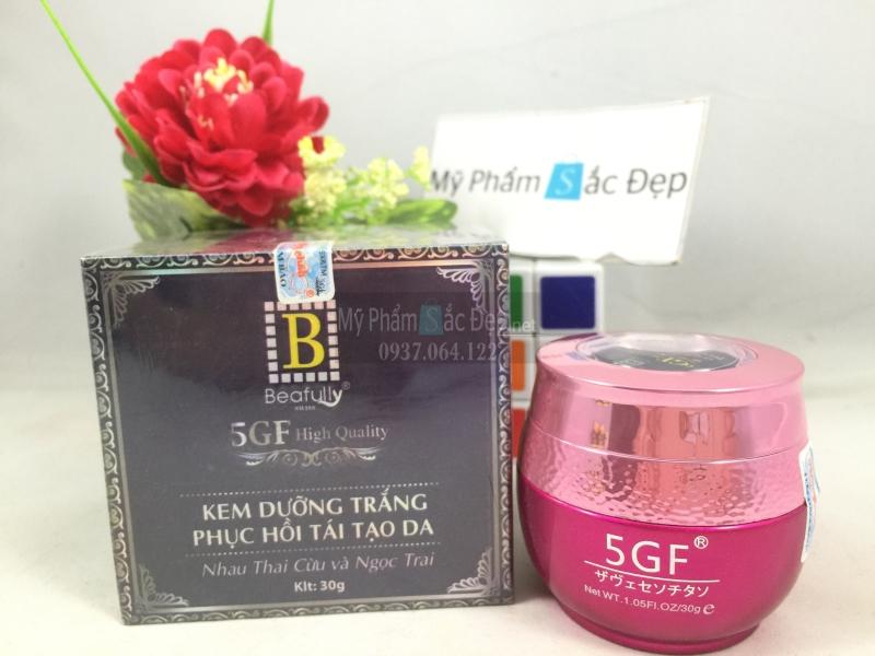 Kem 5GF B Beafully dưỡng trắng phục hồi tái tạo da 30g giá tốt tphcm - 01