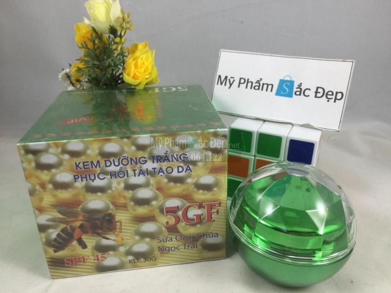 Kem dưỡng trắng phục hồi tái tạo da 5GF sữa ong chúa ngọc trai 30g - 03