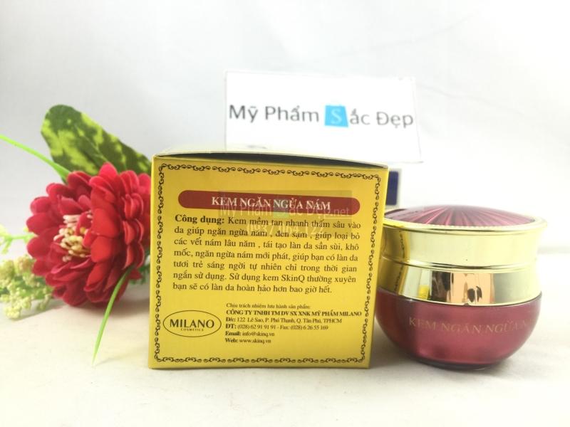 Phân phối kem ngăn ngừa nám SkinQ của MILANO giá tốt nhất tại tphcm - 01