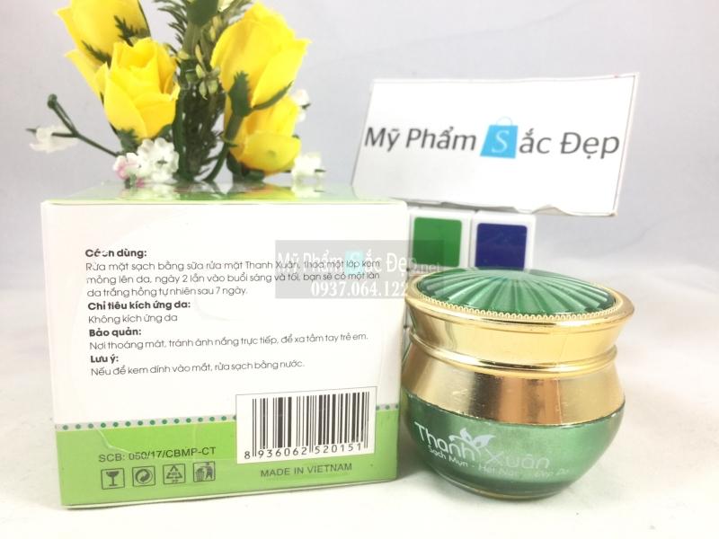 Kem dưỡng trắng chống nắng bảo vệ da Thanh Xuân 15g giá tốt tại tphcm - 03