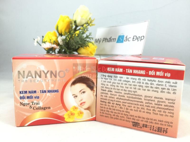 Kem Nanyno trị nám tàn nhang đồi mồi VIP  ngọc trai collagen tại tphcm - 03