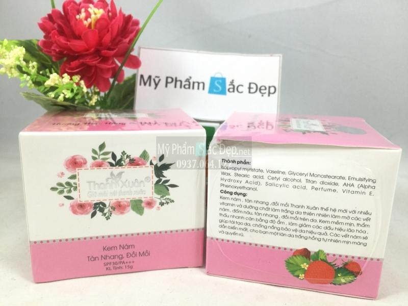Kem nám tàn nhang đồi mồi Thanh Xuân 15g giá tốt nhất tại tphcm - 02
