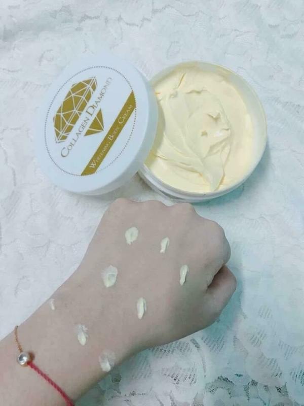Kem body collagen diamond dưỡng trắng da toàn thân giá sỉ tại tphcm - 02