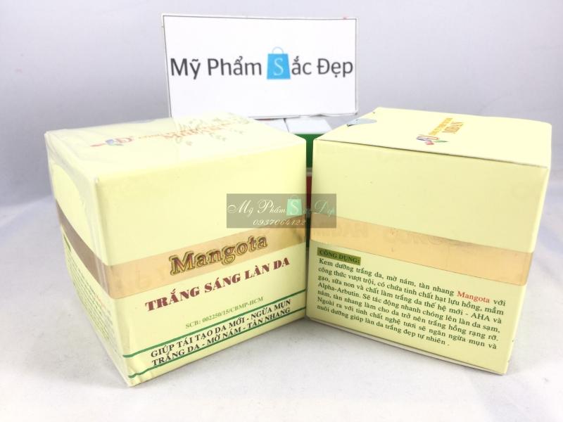 Kem mangota trắng sáng làn da ngừa mụn tái tạo giá sỉ tốt nhất tphcm - 02
