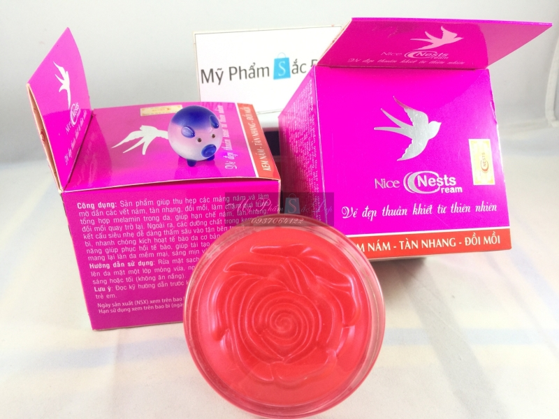 Kem Nice Nests Cream nám tàng nhang đồi mồi hàng chính hãng tại tphcm - 03