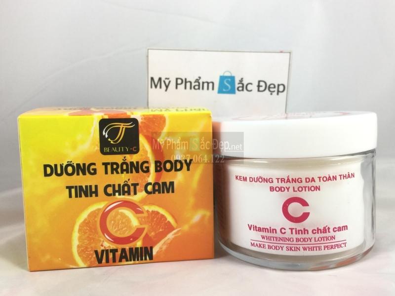 Kem dưỡng trắng body tinh chất cam Vitamin C giá sỉ tốt nhất tại tphcm - 01