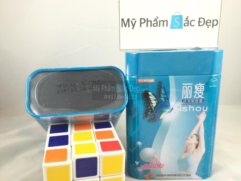 Thuốc giảm cân lishou hộp sắt màu xanh của Thái Lan giá sỉ tại tphcm - 03