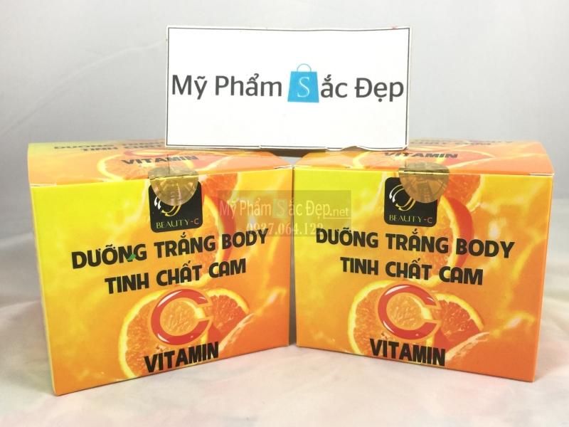 Kem dưỡng trắng body tinh chất cam Vitamin C giá sỉ tốt nhất tại tphcm - 03