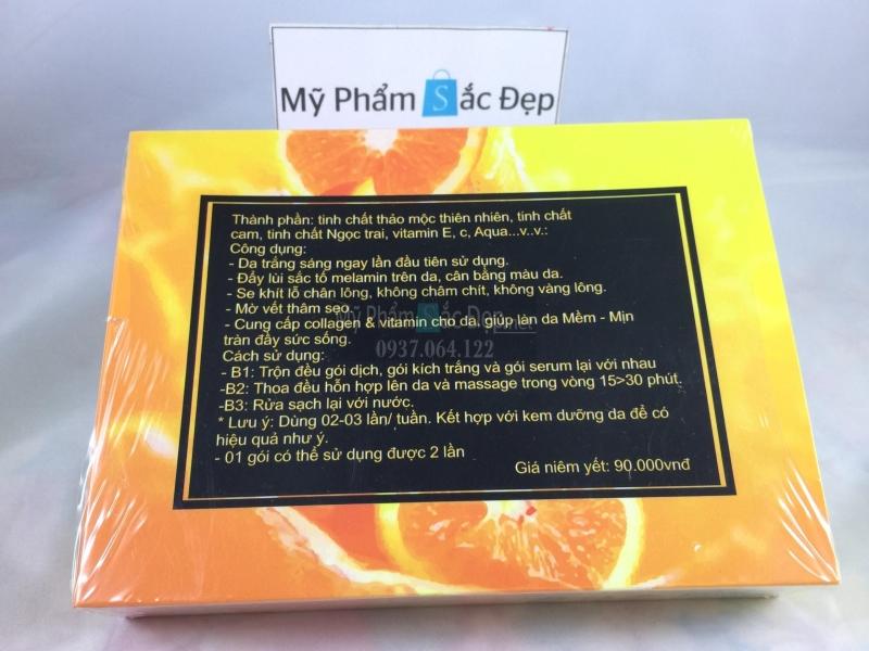 Tắm trắng cam vitamin C hàng chính hãng hiệu quả giá sỉ tại tphcm - 03