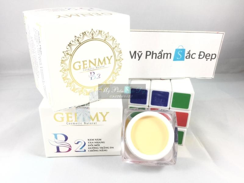 Kem trắng da chống nắng nám tàn nhàng đồi mồi GENMY B2 10g tại tphcm - 03