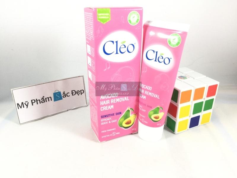 Kem tẩy lông CLEO Avocado không đau giá sỉ tốt nhất tại tphcm - 01