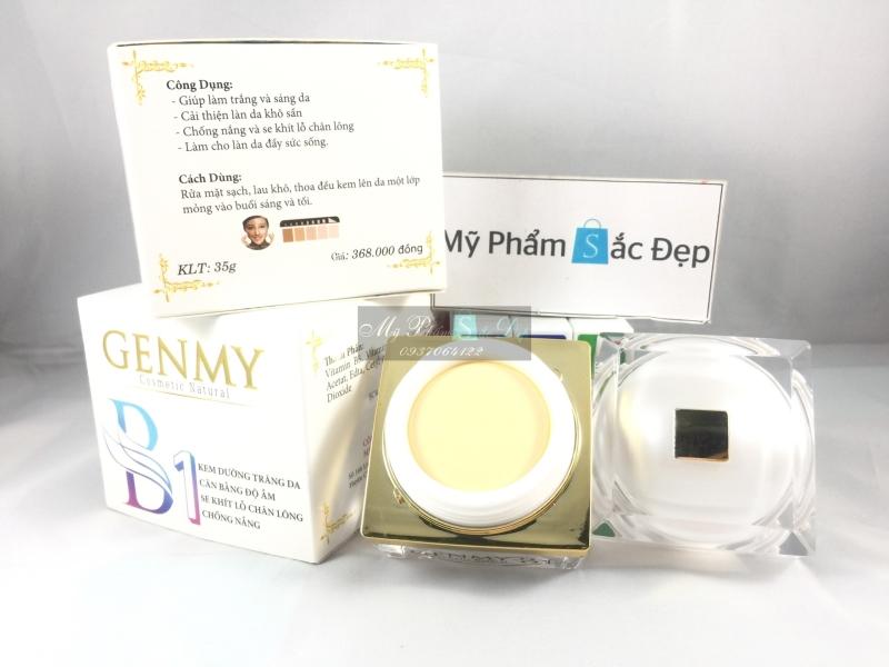 Kem dưỡng trắng da chống nắng Genmy B1 35g giá tốt nhất tại tphcm - 02