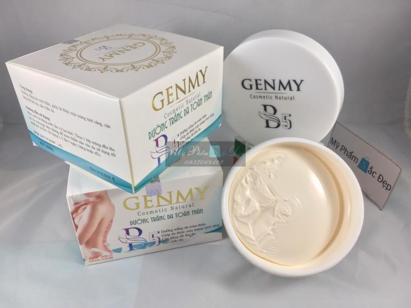 Kem GENMY B5 200g dưỡng trắng da toàn thân chính hãng giá tốt tphcm  - 02