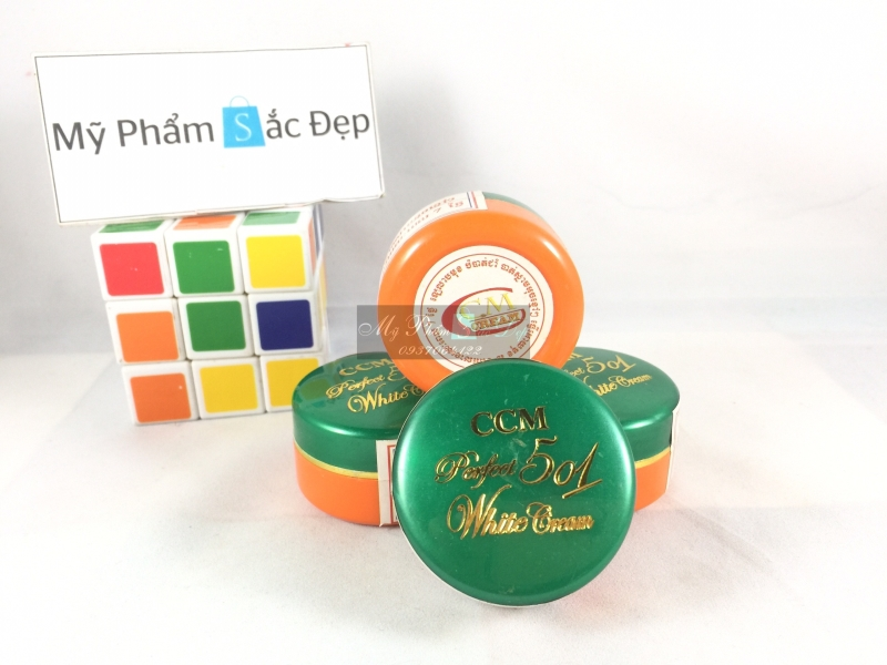 Kem CCM perfect 501 white cream Thái Lan trị mụn bọc thâm giá sỉ tphcm - 01
