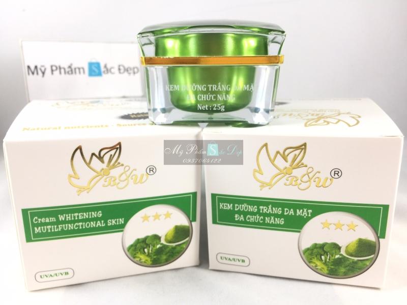 Kem dưỡng trắng da đa chức năng B&W 25g lá neem bông cải giá tốt tphcm - 03