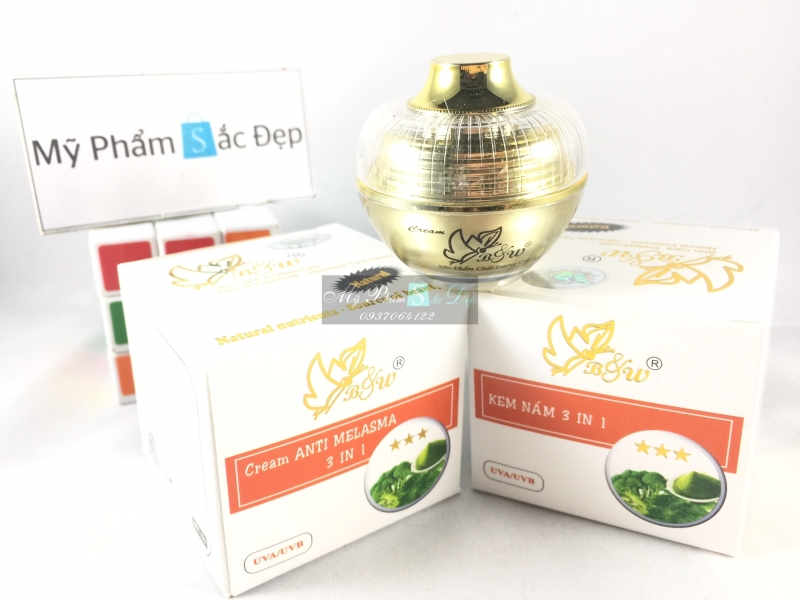 Kem B&W 10g ngăn ngừa nám 3 in 1 từ lá neem bông cải giá tốt tại tphcm - 02