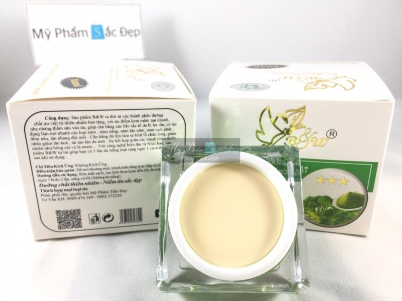 Kem dưỡng trắng da đa chức năng B&W 25g lá neem bông cải giá tốt tphcm - 02