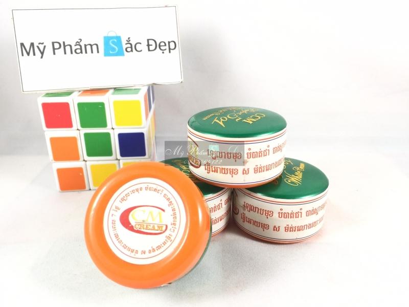 Kem CCM perfect 501 white cream Thái Lan trị mụn bọc thâm giá sỉ tphcm - 03