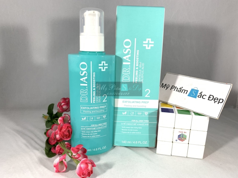 Nước hoa hồng giúp tái tạo da Dr.Iaso Mint chính hãng giá tốt ở tphcm - 01