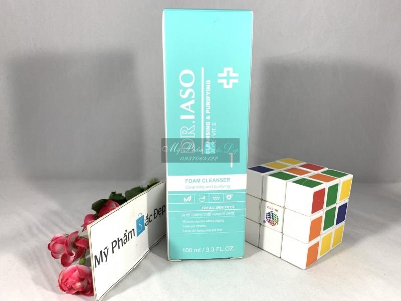 Sữa rửa mặt tạo bọt Dr.Iaso Mint DR. IASO FOAM CLEANSER giá tốt tphcm - 02